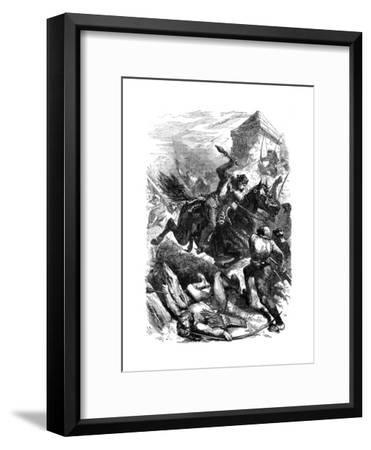 King Edward I of England at Berwick, 1296--Framed Giclee Print