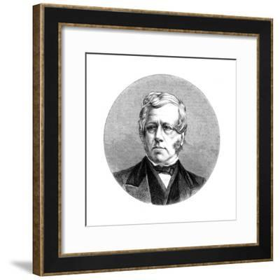 George William Frederick Howard, 7th Earl of Carlisle, British Politician and Statesman--Framed Giclee Print