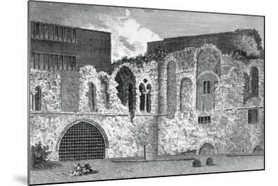 Ruins of the South Transept, Church of St Bartholomew-The-Great, Smithfield, City of London, 1800--Mounted Giclee Print