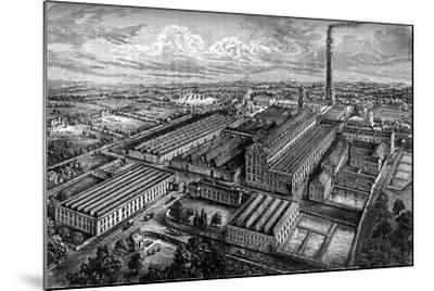 Camperdown Linen Works, Dundee, C1880--Mounted Giclee Print