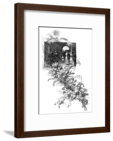 Manly Wild Flower Show, Sydney, New South Wales, Australia, 1886--Framed Giclee Print