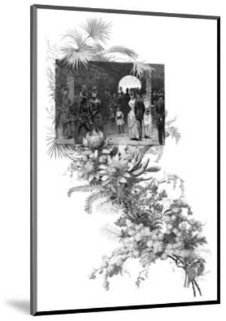 Manly Wild Flower Show, Sydney, New South Wales, Australia, 1886--Mounted Giclee Print