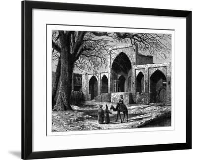 The Tomb of Nadir Shah of Persia at Mecca, (1688-174), C1890--Framed Giclee Print