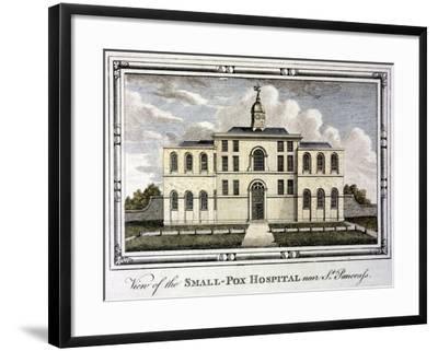 Smallpox Hospital, St Pancras, London, C1800--Framed Giclee Print