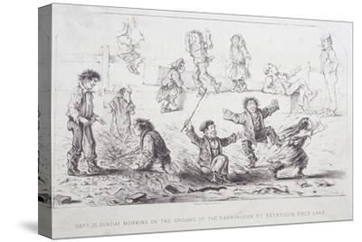 Field Lane Ragged School, London, 1853-William Dickes-Stretched Canvas Print
