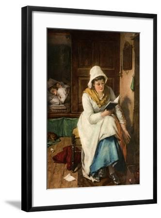 When the Children are Asleep, 1908-1909--Framed Giclee Print