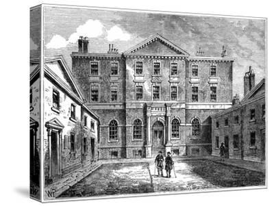 The Albany, London, 1805--Stretched Canvas Print