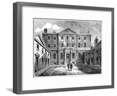 The Albany, London, 1805--Framed Giclee Print
