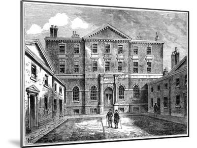 The Albany, London, 1805--Mounted Giclee Print
