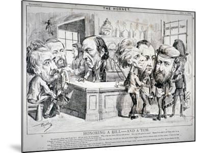 Honouring a Bill - and a Tom, 1869-F Poublon-Mounted Giclee Print