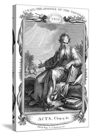 St Paul the Apostle Who Took the Christian Message to the Gentiles, 19th Century--Stretched Canvas Print