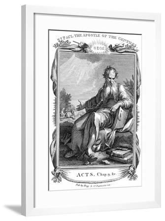St Paul the Apostle Who Took the Christian Message to the Gentiles, 19th Century--Framed Giclee Print