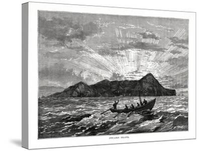 Pitcairn Island, Pacific Ocean, 1877--Stretched Canvas Print