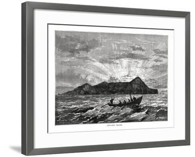 Pitcairn Island, Pacific Ocean, 1877--Framed Giclee Print