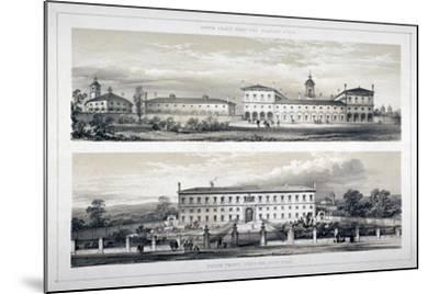 The Royal Naval School, Lewisham High Road, New Cross, Lewisham, London, C1870--Mounted Giclee Print