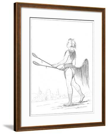 A Distinguished Ball Player, 1841-Myers and Co-Framed Giclee Print