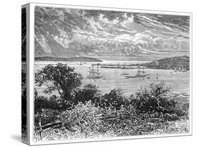 Falmouth Harbour, Cornwall, England, 1900--Stretched Canvas Print