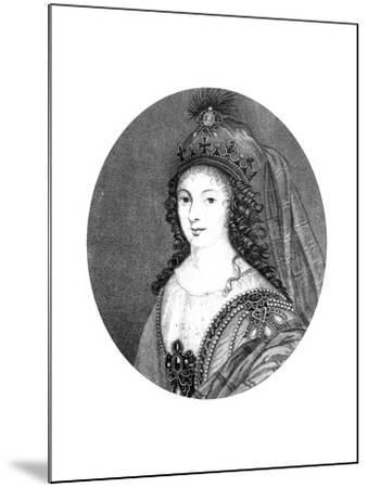 Henrietta, Duchess of Orleans--Mounted Giclee Print