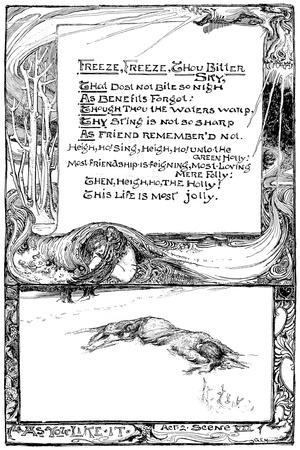 Freeze, Freeze, Thou Bitter Sky, 1895-Giraldo Eduardo Lobo de Moura-Stretched Canvas Print