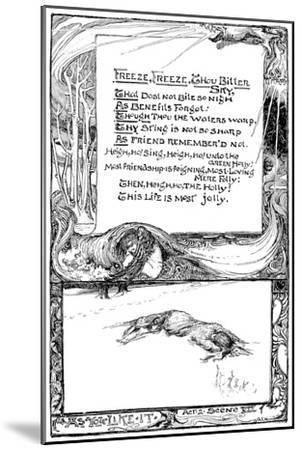 Freeze, Freeze, Thou Bitter Sky, 1895-Giraldo Eduardo Lobo de Moura-Mounted Giclee Print