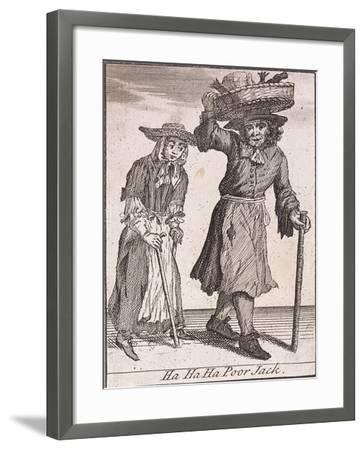 Ha Ha Ha Poor Jack, Cries of London-Marcellus Laroon-Framed Giclee Print