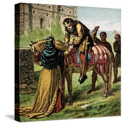 The Wicked Queen Elfrida--Stretched Canvas Print