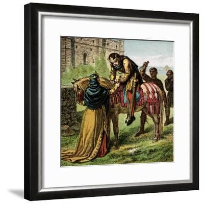 The Wicked Queen Elfrida--Framed Giclee Print