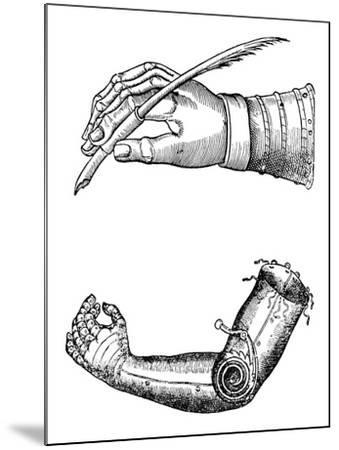 Artificial Limbs, 1510-1590--Mounted Giclee Print