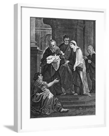 Simeon's Benediction, 1814--Framed Giclee Print
