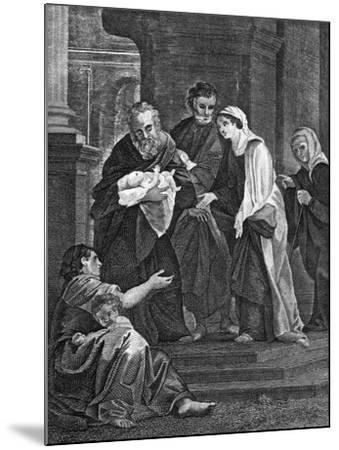 Simeon's Benediction, 1814--Mounted Giclee Print