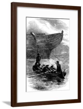 Lieutenant Caldwell Slipping the Chain, American Civil War, 1861-1865--Framed Giclee Print