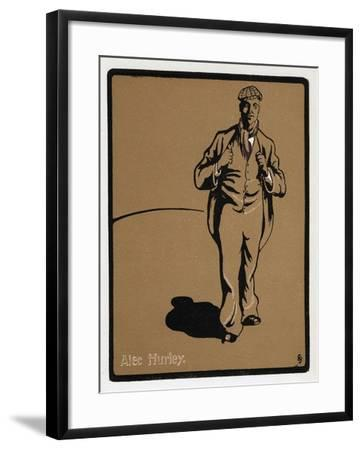 Alec Hurley (1871-191), Music Hall Star, Late 19th Century--Framed Giclee Print