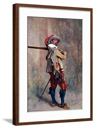 A Musketeer, C1600-1650-Jean Louis Ernest Meissonier-Framed Giclee Print