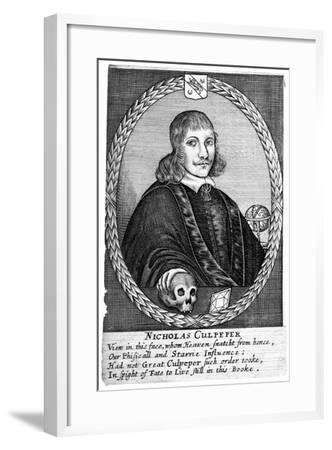 Nicholas Culpepper (1616-5)--Framed Giclee Print