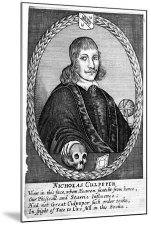 Nicholas Culpepper (1616-5)--Mounted Giclee Print