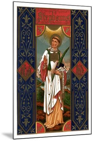 St Stephen, 1886--Mounted Giclee Print