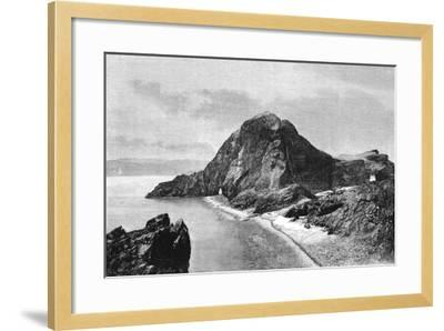 Cape Sam-Lourenco, Eastern Headlands of Madeira, 1895--Framed Giclee Print