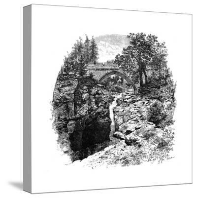 The Linn of Dee, Aberdeenshire, Scotland, 1900-GW and Company Wilson-Stretched Canvas Print