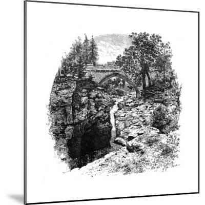 The Linn of Dee, Aberdeenshire, Scotland, 1900-GW and Company Wilson-Mounted Giclee Print
