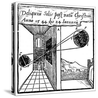 Camera Obscura, 1561--Stretched Canvas Print