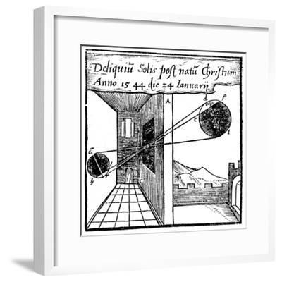 Camera Obscura, 1561--Framed Giclee Print