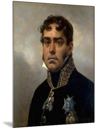 Portrait of General Pablo Morillo Y Morillo, 1820-1822-Horace Vernet-Mounted Giclee Print