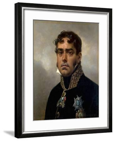 Portrait of General Pablo Morillo Y Morillo, 1820-1822-Horace Vernet-Framed Giclee Print