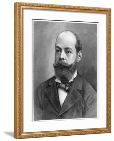Lord Randolph Henry Spencer Churchill, British Statesman, 1895--Framed Giclee Print