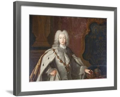 Portrait of Peter II, C1728--Framed Giclee Print