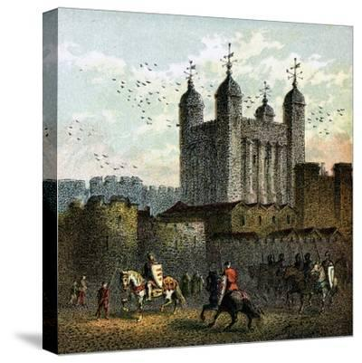 The Tower of London--Stretched Canvas Print