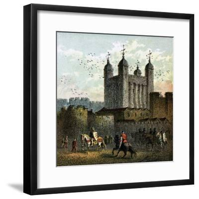 The Tower of London--Framed Giclee Print