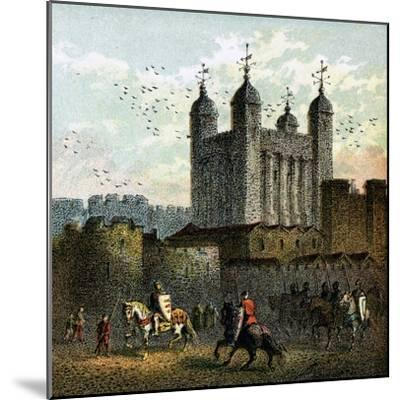The Tower of London--Mounted Giclee Print