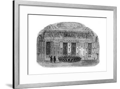 The Council Chamber at the Hague, Netherlands, 19th Century--Framed Giclee Print