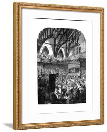 The Trial of Dr Sacheverel, 18th Century--Framed Giclee Print